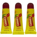 Carmex - Lip Moisturizing Tube, CHERRY Balm - 0.35 Oz (3-Pack)