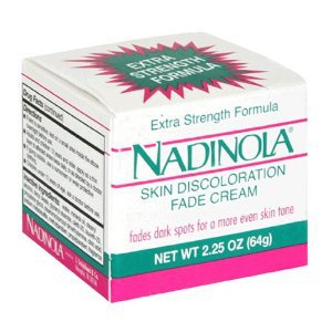Nadinola Skin Discoloration Fade Cream, Extra Strength Formula, 2.25 oz.