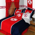 Boston Red Sox Comforter and Sheet Set - Queen