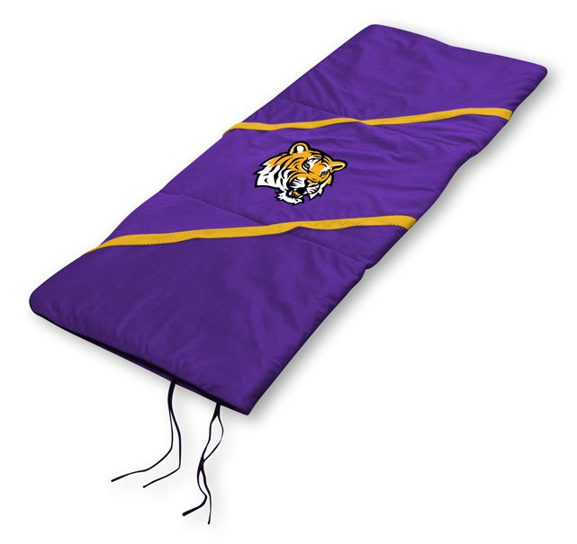 """LSU Tigers NCAA Licensed 29"""" x 66"""" Sleeping Bag"""