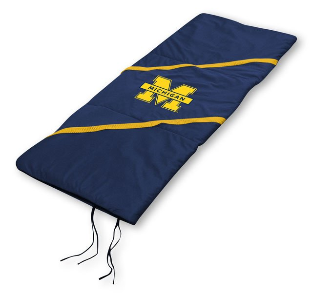 "Michigan Wolverines NCAA Licensed 29"" x 66"" Sleeping Bag"