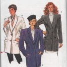 Vogue 9723 80s *UNCUT* unlined JACKET, Vintage Sewing Pattern