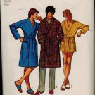 Simplicity 9637 70s Vintage Mens WRAP ROBE Sewing Pattern