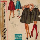 Simplicity 5032 60s Reversible WRAP-AROUND SKIRT Vintage Sewing Pattern