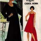Vogue 1031 Vintage 70s &quot;Vogue Americana&quot; Carol Horn Designer JACKET & DRESS Sewing Pattern