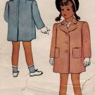 McCall 5971 40s Girl's Classic COAT with pockets Vintage Sewing Pattern