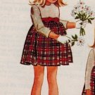 McCall's 7420 60s Girl's Designer Helen Lee Party DRESS Vintage Sewing Pattern
