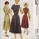 McCall 8151 UNCUT Fabulous 50s DRESS Vintage Sewing Pattern