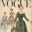 Vogue 9015 50s Superb Retro Dickey DRESS Vintage Sewing Pattern *UNCUT*