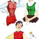 Simplicity 4768 50s VEST & Weskit Vintage Sewing Pattern