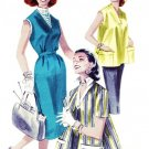 Butterick 7796 50s Maternity COORDINATES, DRESS/JUMPER & SMOCK Top Vintage Sewing Pattern