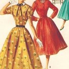 McCall's 3435 50s *UNCUT Vintage Rockabilly DRESS with Two Skirts Vintage Sewing Pattern