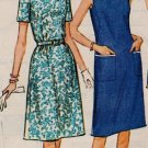 "McCall's 7229 60s Half Size DRESS ""Easy to Sew"" Vintage Sewing Pattern"