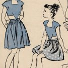 Butterick 3761 40s Girls' Dirndl Skirt PLAYSUIT Vintage children Sewing Pattern
