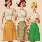 "Butterick 2779 Vintage 60s UNCUT ""Cone"" shaped SKIRT in Proportioned Lengths Sewing Pattern"