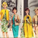 Butterick 2624 60s *UNCUT MOD DRESS in 8 Easy Pieces Pam Am Era Vintage Sewing Pattern