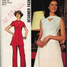 Simplicity 5009 70s Cut Out Keyhole DRESS Vintage Sewing Pattern