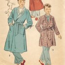 Advance 7741 50s Handsome Boy's ROBE Vintage Sewing Pattern