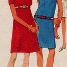 Butterick 4833 60s *UNCUT* A-Line, Ultimate Mad Men DRESS Vintage Sewing Pattern