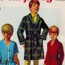 Simplicity 7936 60s Boys ROBES Vintage Sewing Pattern