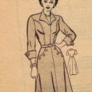 American Weekly 3875 50s Mail Order DRESS Vintage Sewing Pattern