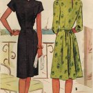 McCall 6314 1940s Absolutely Fabulous DRESS Vintage Sewing Pattern