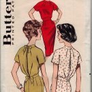 Butterick 9324 60s Classy Day into Night DRESS Vintage Sewing Pattern