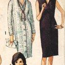 Simplicity 5538 60s Italian Collar Pan Am Era DRESS Vintage Sewing Pattern
