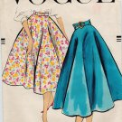 Vogue 9268 50s Bias Circle SKIRT Wounded Bird Vintage Sewing Pattern (mostly envelope only!)
