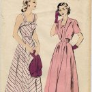 Advance 4904 late 40s SUNDRESS & BOLERO Vintage Sewing Pattern