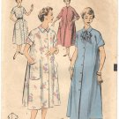 "Advance 6736 50s ""Lady of the House"" HOUSECOAT / ROBE / DUSTER Vintage Sewing Pattern"