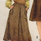 Simplicity 5174 80s Set of BIAS SKIRTS Vintage Sewing Pattern
