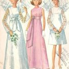 Simplicity 7479 60s WEDDING GOWN & Bridesmaid Gowns Vintage Sewing Pattern