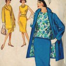 "Simplicity 5279 60s Sensational ""Walking"" SUIT and Dart Fitted BLOUSE Vintage Sewing Pattern"