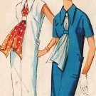 Simplicity 5488 60s Martingale/Back-Belt DRESS Vintage Sewing Pattern