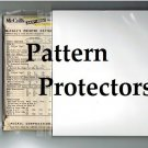 Pattern Protectors - Vintage Sewing Pattern Protection & Storage - Acid Free/Archival Quality