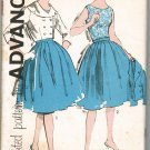 Advance 9819 60s *UNCUT Junior Full SKIRT, BLOUSE & JACKET Vintage Sewing Pattern