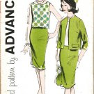 Advance 9820 60s *UNCUT Sophisticated Career SUIT Jr. Vintage Sewing Pattern