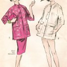 Advance 9076 50s Sensational COATS - Mandarin Collar Jacket  Vintage Sewing Pattern