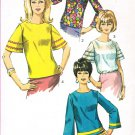 Simplicity 6507 60s Retro BLOUSE SET Vintage Sewing Pattern