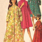 Simplicity 7362 60s ROBE & HOUSECOAT Vintage Sewing Pattern