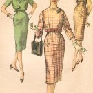 Simplicity 3076 60s Jackie-O/Pan Am Era SLIM SKIRT & Short JACKET  Vintage Sewing Pattern