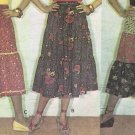 McCall's 5696 70s Tiered & Ruffled Peasant Skirt Vintage Sewing Pattern