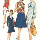 McCall's 7749 Vintage 60s Mad Men Era Separates -DRESS, SKIRT, JACKET, etc Sewing Pattern