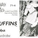 "Annie's Attic 1970s RAGMUFFINS Uncut Extra Wardrobe for ""BUBBA"" Stuffed Doll sewing Pattern"
