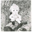 """Annie's Attic Vintage 1970s RAGMUFFINS Uncut  DOLL """"BUBBA"""" Sewing Pattern"""