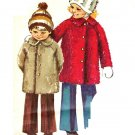 Simplicity 9903 Adorable 70s Chids' COAT Vintage Sewing Pattern Toddler 3