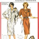 Burda 5887 Vintage 80s Plus Size Shirtwaist DRESS Sewing Pattern