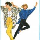Burda 6241 Vintage 80s Stirrup PANTS Sewing Pattern