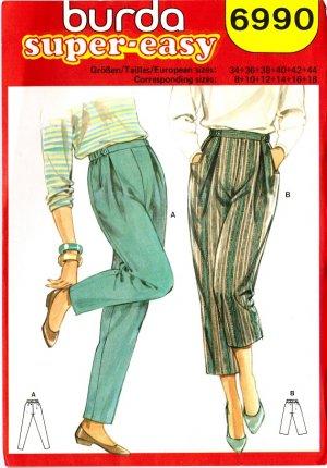 PATTERN CAPRI PANTS | Design Patterns